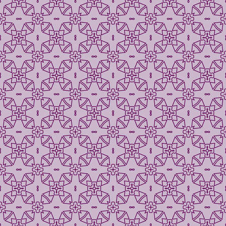 fashion geometric seamless pattern of different geometric shapes.   purple color 矢量图像