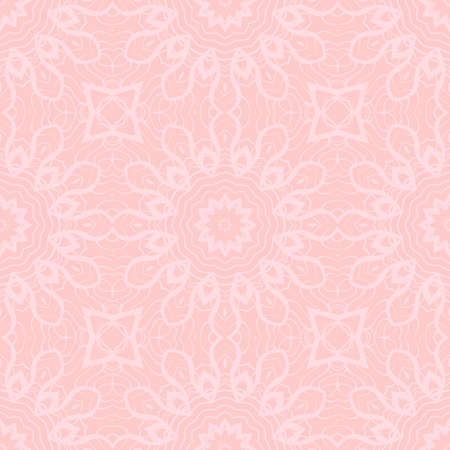 art deco abstract floral seamless pattern . rose color monochrome vector illustration