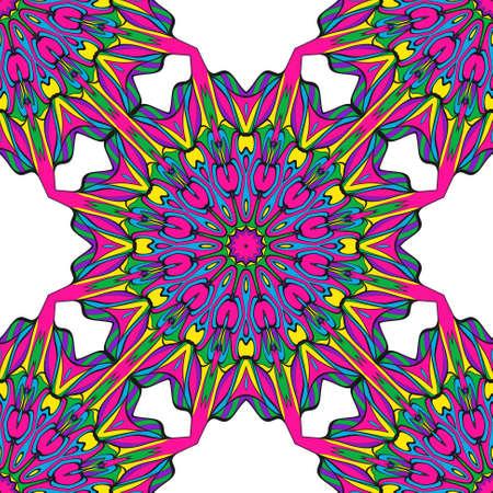 Modern decorative floral lace pattern. Creative Vector illustration. for design invitation, background, wallpaper 일러스트
