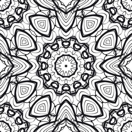 Floral pattern vector illustration.