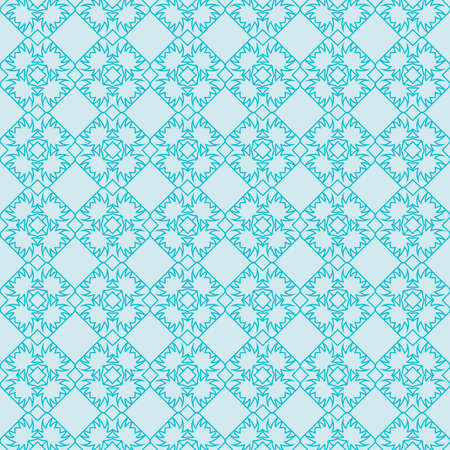 seamless geometry pattern. vector illustration. texture for design wallpaper, pattern fills, fabric, wrappingg paper. light blue color