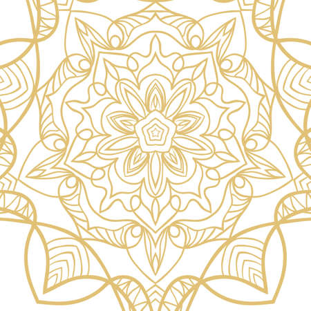 abstract floral hand drawn pattern. vector illustration