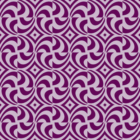 seamless pattern of purple color lines, Optical illusion illustration.
