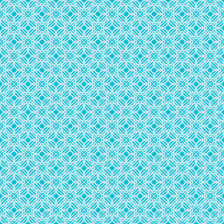 creative geometric pattern. Decorative seamless ornament. vector illustration.blue color Illustration