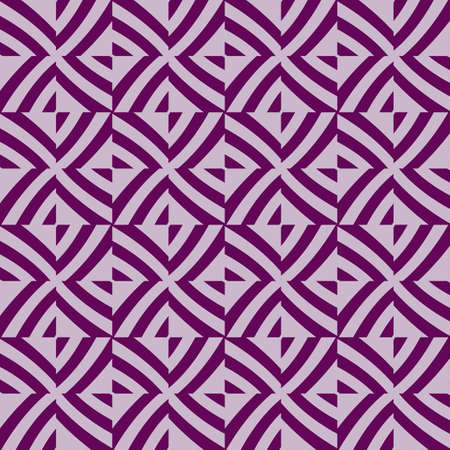 Seamless pattern of purple color lines. Optical illusion. Vector illustration. As background, pictures, wallpapers