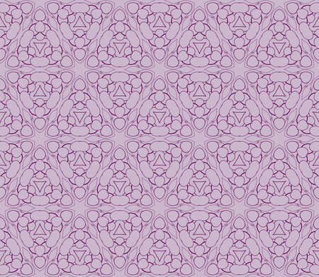 a beautiful geometric seamless pattern of different geometric shapes vector illustration.
