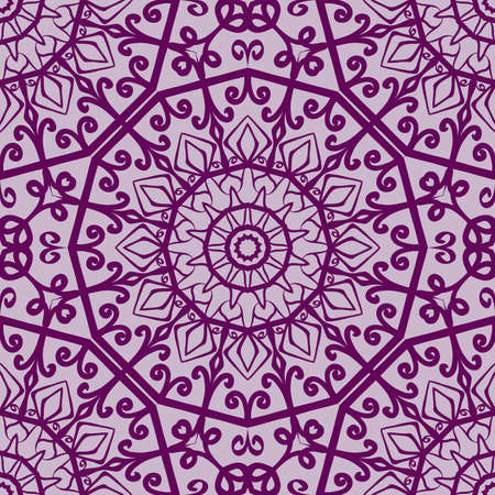 Lace floral seamless pattern.