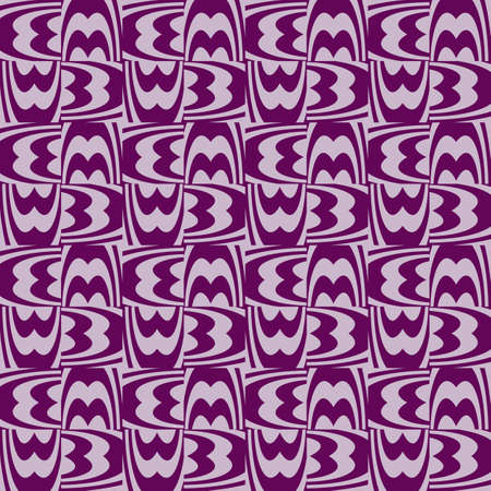 Seamless pattern of purple color lines. Optical illusion. Vector illustration as background, pictures and wallpapers.