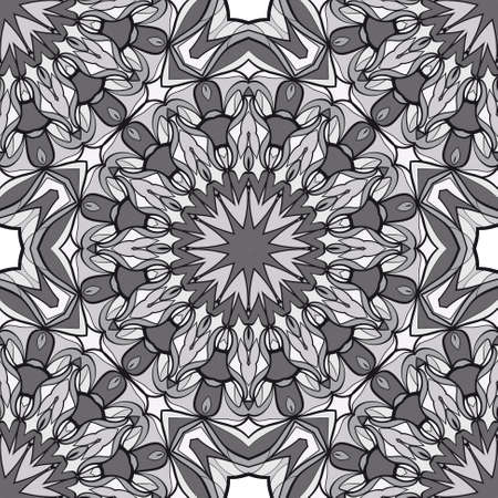 Fabulous abstract background. monochcrome vector illustration design for wallpaper and fabric print.