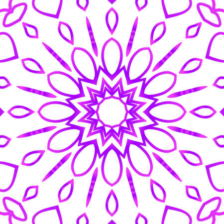 Floral pattern. vector illustration. hand drawn henna india tribal paisley background and purple color 矢量图像