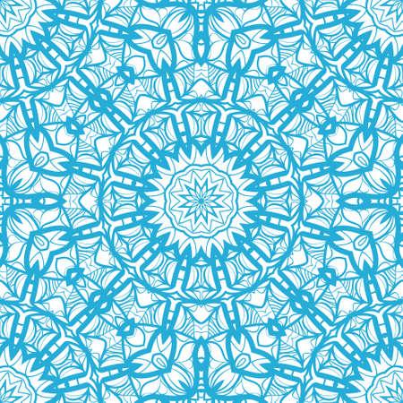 Seamless floral pattern. Vintage decorative elements.