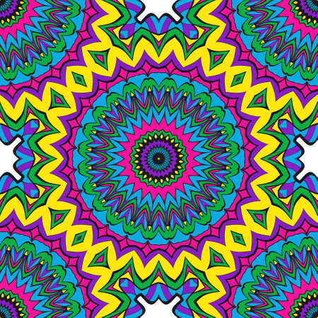 Modern decorative floral lace pattern. Creative Vector illustration. for design invitation, background, wallpaper  イラスト・ベクター素材