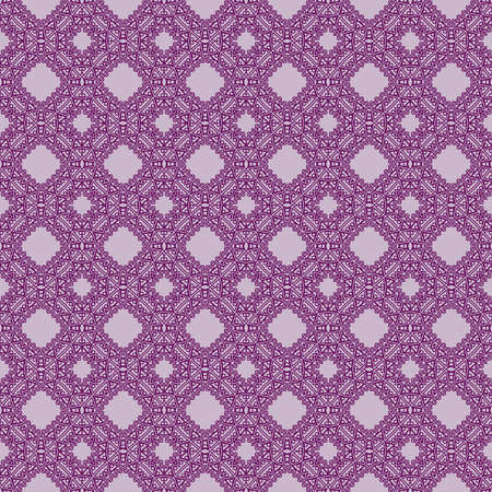 fashion geometric seamless pattern of different geometric shapes. vector illustration. purple color