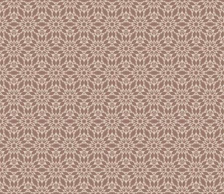 Vintage decorative ethnic floral ornament. vector illustration. oriental design for print, wallpaper, decor, fabric, textile. beige color 向量圖像