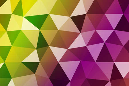 background with bright triangles. vector illustration. to design banners, presentations, brochures greeting. autumn colors.