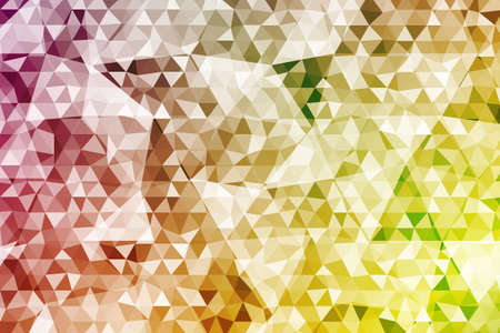 abstract color crumpled background triangles. Stock Illustratie