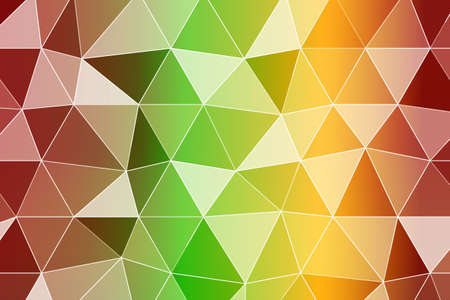 background with bright triangles vector illustration.
