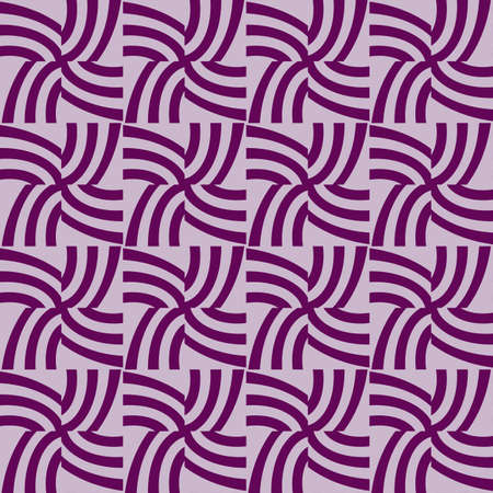 seamless pattern of purple color lines. Optical illusion. Vector illustration. As background, pictures, wallpapers Illustration