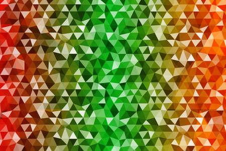 Colorful Polygonal pattern design