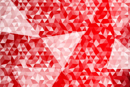 Dark red gradient polygonal  design