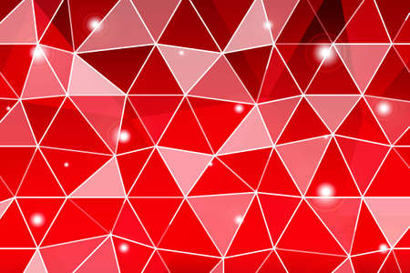 Dark red gradient polygonal for business design