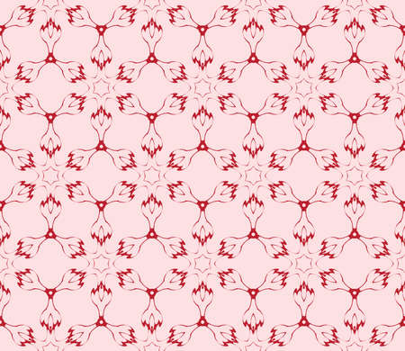 Light gentle background of floral ornament for your greeting cards. Light red color. Vector illustration for the design, printing, postcards. seamless pattern