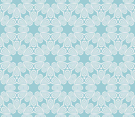 seamless vector pattern. imitation pencil drawing in the form of engraving. virtual 3d cube. interior decoration, wallpaper, presentation, fashion design. blue color