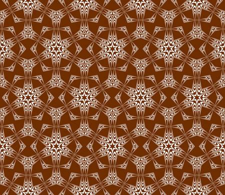 seamless vector pattern. floral ornament. interior decoration, wallpaper, presentation, fashion design. chocolate color