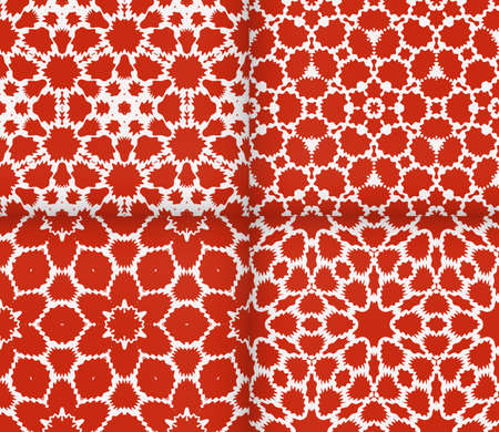 complex geometric ornament. sophisticated geometric pattern based on repetitive simple forms.