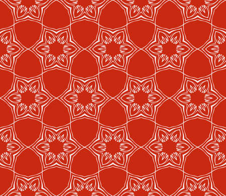 Seamless floral geometric patterns. Rose color. Texture for holiday cards, Valentines day, wedding invitations, design wallpaper, pattern fills, web page, banner, flyer. Illustration