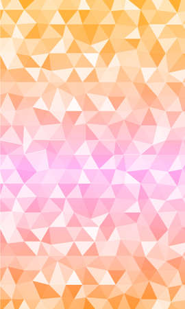 polygon background pink shades for the banner. vector illustrations. to design web banners, business brochures or flyers Çizim
