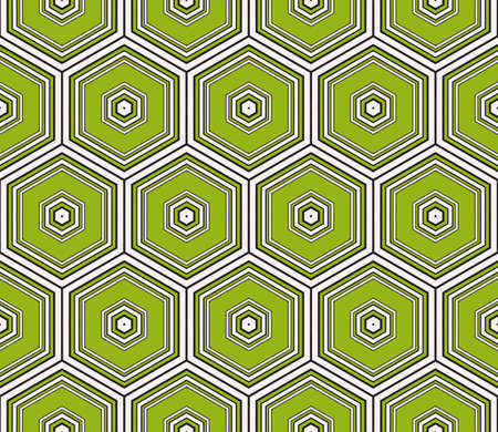 seamless sophisticated geometric pattern based on repetitive simple line and shape forms. vector illustration. for interior design, backgrounds, card, textile industry. green coloring