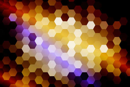 Multicolor color low poly background of hexagons. Vector illustration. Geometric design for business, brochure, presentation, wallpaper.