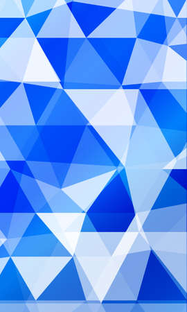 Blue background image from the polygonal elements. Blend vector illustration. For design, presentations, banners.
