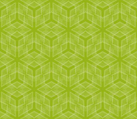 3d cubes seamless vector pattern