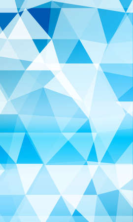Blue background image from the polygonal elements. Blend. Vector illustration. Abstraction. For design, presentations, banners.