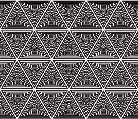 seamless sophisticated geometric pattern based abstract line and shape.