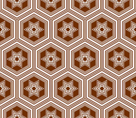 seamless sophisticated geometric pattern based on repetitive simple forms.