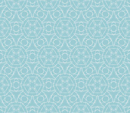 seamless floral geometric patterns. blue color. Texture for holiday cards, Valentines day, wedding invitations, design wallpaper, pattern fills, web page, banner, flyer. Vector illustration.
