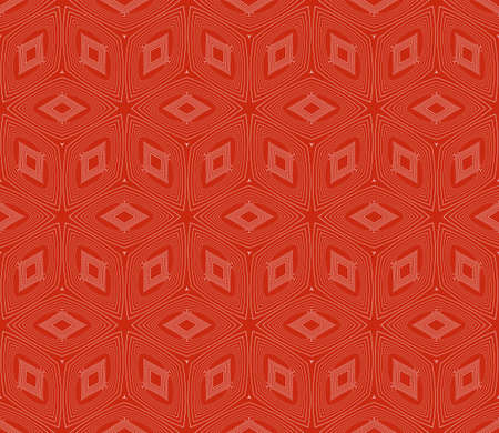 virtual 3d cube. seamless vector pattern. interior decoration, wallpaper, presentation, pattern fills, fashion design. rose color