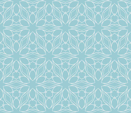 Seamless floral geometric patterns. Texture for holiday cards, Valentines day, wedding invitations, design wallpaper, pattern fills, web page, banner, flyer. Illustration