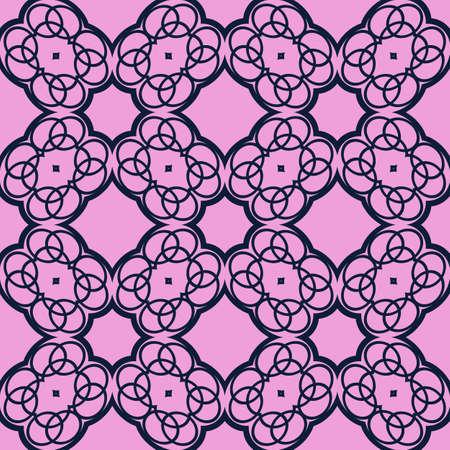 Geometric purple distortion circular pattern. Hình minh hoạ