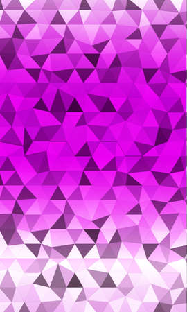 Bright polygon background purple shades for the banner.