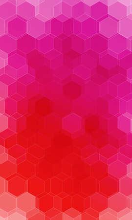 beautiful pink, red color hexogonal background. vector illustration. polygonal pattern. design for banner, presentation, wallpaper.
