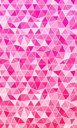 Polygon background pink shades for the banner. Vector illustrations to design web banners and business brochures.