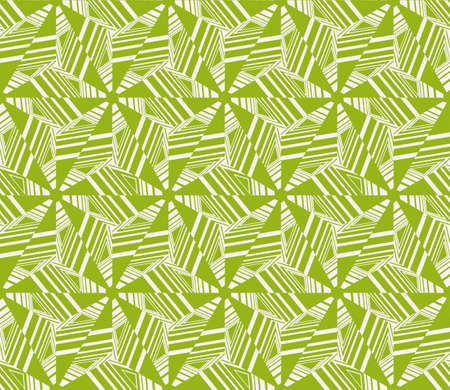 Geometric pattern with repetitive simple line and shape forms
