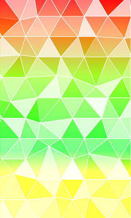 Background of green triangles tone for the banner. Vector illustrations for design web banners, business brochures or flyers.