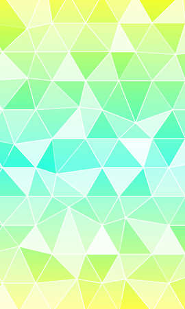 multi color banner. polygonal design. vector illustration. origami style. for design, internet, business Ilustração