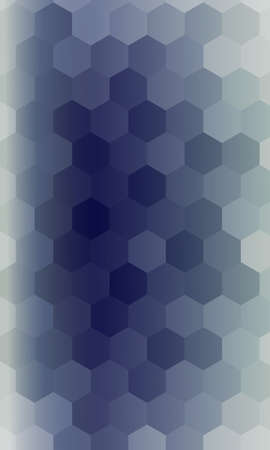 hexagons on a dark blue color banner. vector. geometric pattern with gradient. ideas for your business presentations, printing, design.