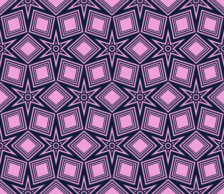 star geometry background. seamless. vector. purple color. for design, wallpaper